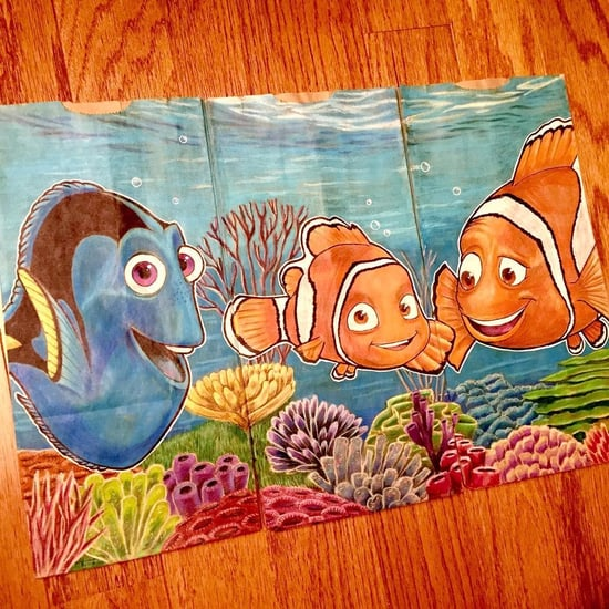 Dad's Lunch Bag Illustrations For Son