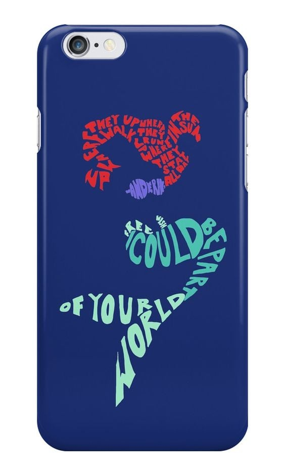 Ariel Part of Your World case ($25)