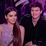 Hailee Stenfield and Ansel Elgort
