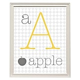 Printable Alphabet Wall Art ($3)