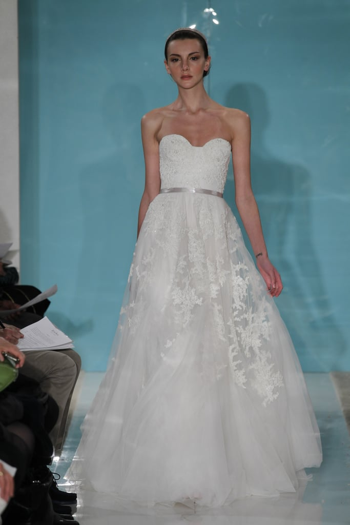 Reem acra bridal spring 2013 wedding dresses from bridal for Reem acra lace wedding dress