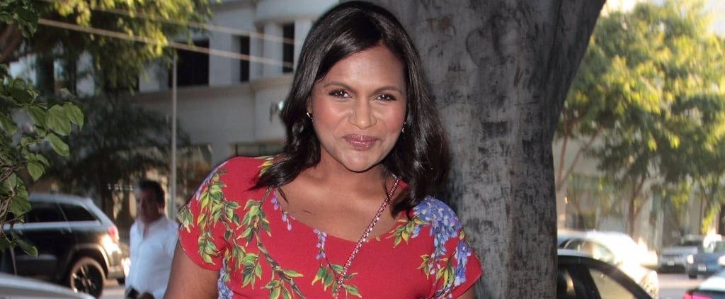Mindy Kaling's Stylist Created a Maternity Outfit Fashion Girls Will Flip For