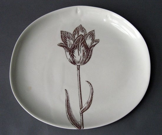 Etsy Find: Open Tulip Serving Platter