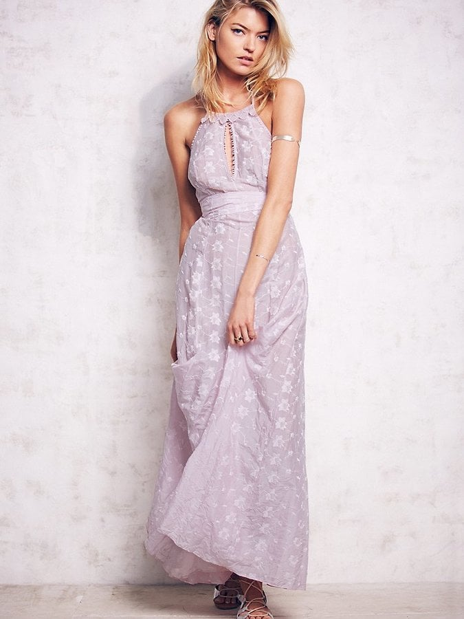 Free People Starflower Embroidered Maxi