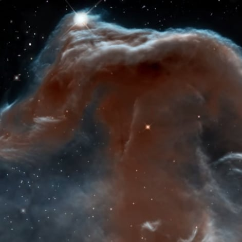 Horsehead Nebula Zoom In