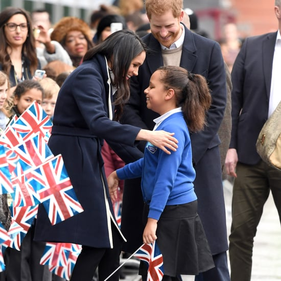 Meghan Markle Meeting 10-Year-Old Girl in Birmingham 2018