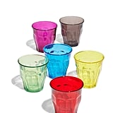 Duralex Picardie Set of 6 Multicolor Tempered Glass Tumblers