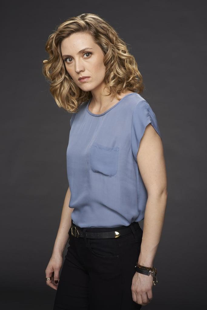 Evelyne Brochu as Delphine. Source: BBC