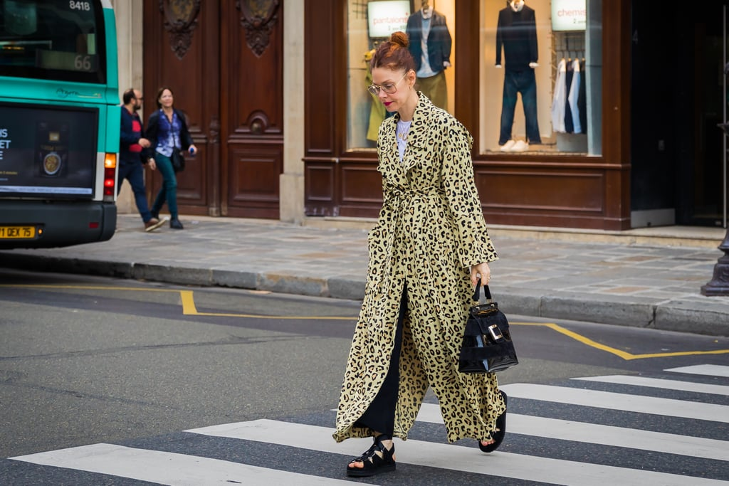 A One-and-Done Look Is So Easy to Construct When Your Trench Coat Comes in Leopard