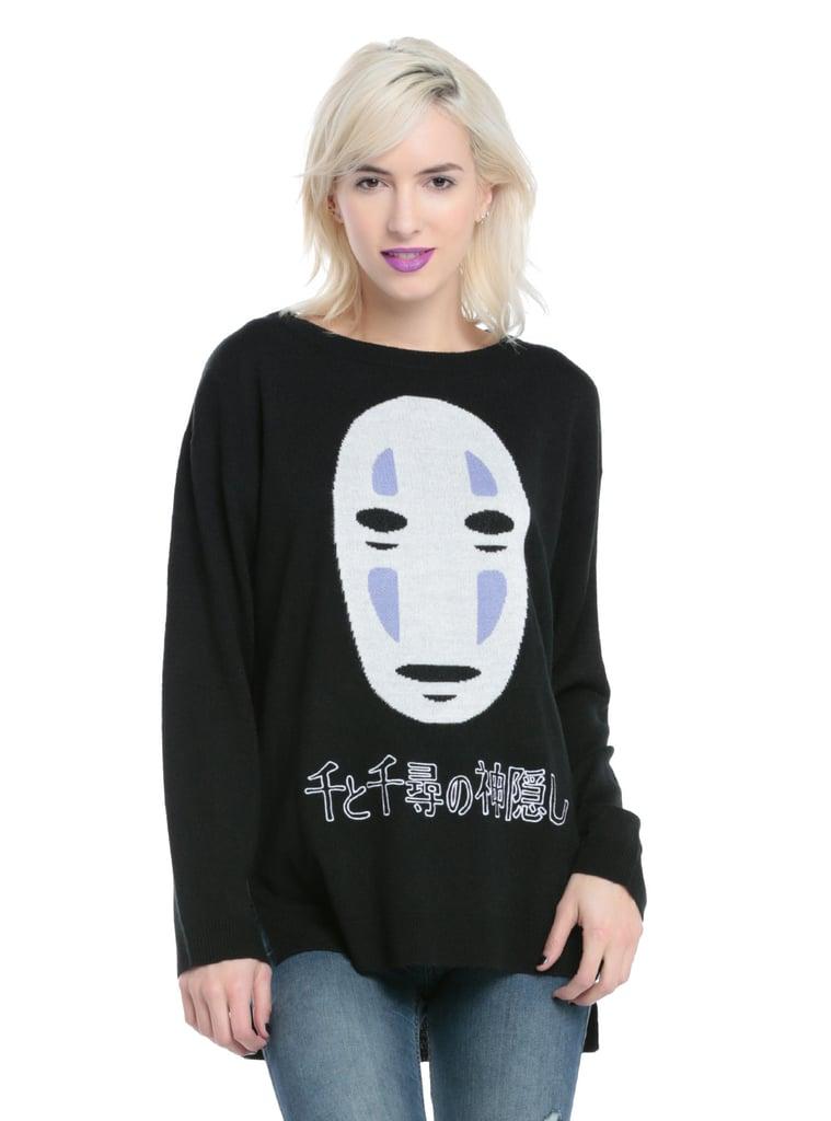 No-Face Kanji Sweater ($42-$45, originally $49-$53)