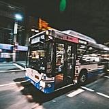 Take public transportation in an unfamiliar place.