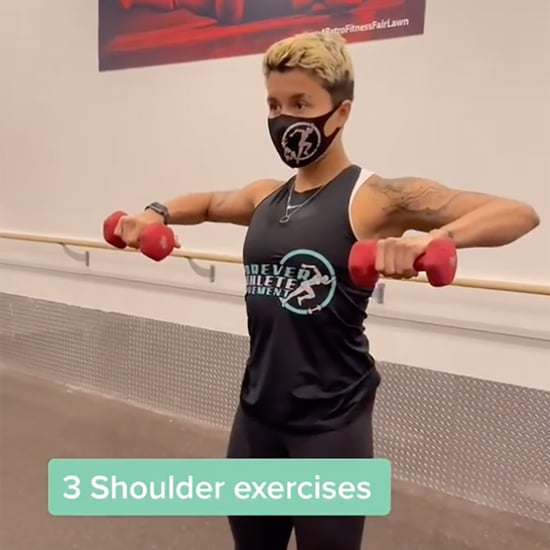 Dumbbell Shoulder Exercises on TikTok From Nicole Gomez