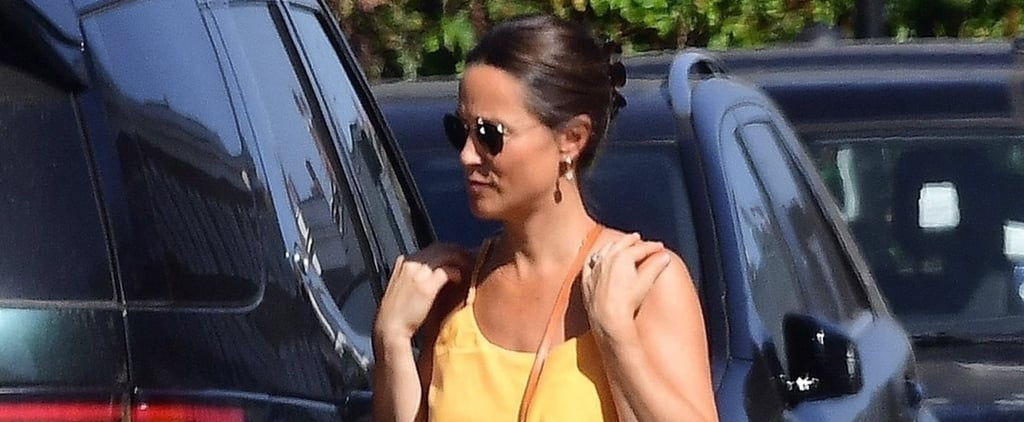 Pippa Middleton Orange Romper July 2018