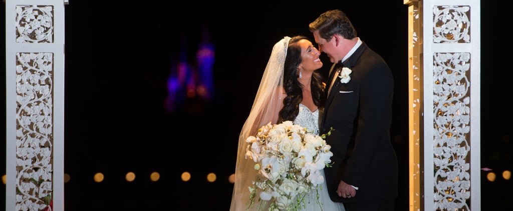 This Beauty and the Beast Wedding at Disney World Had a Life-Size Lumiere Perform