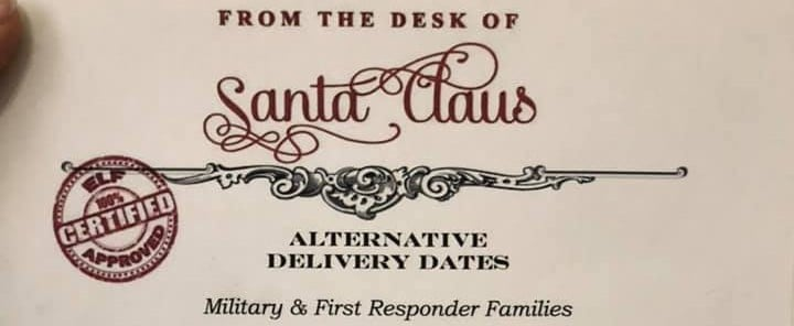 Santa Claus Delivery Options For Military Families
