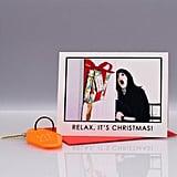 Shining Christmas Card