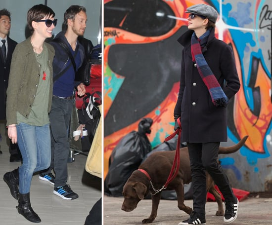 Anne Hathaway Greets Fans in Japan | Pictures