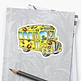 Magic School Bus Sticker ($6)