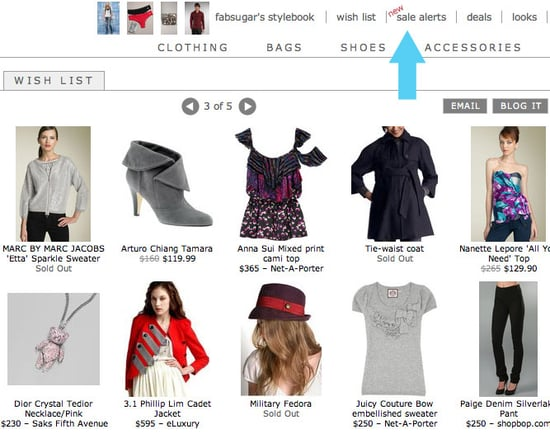 New and Improved ShopStyle Sale Alerts (Yay)