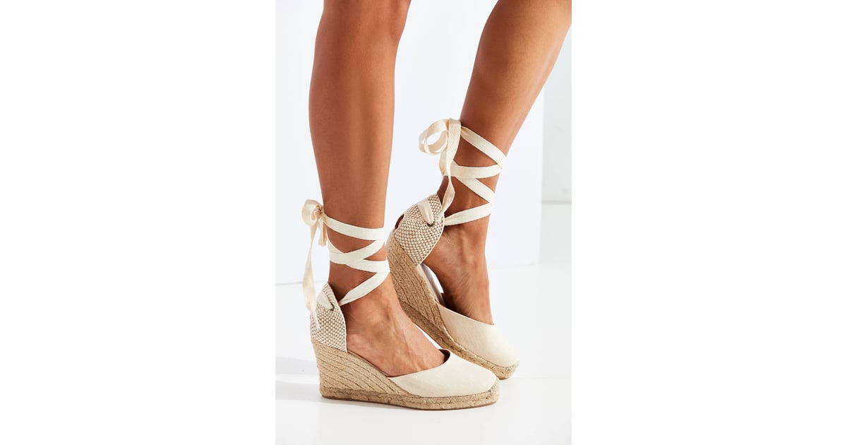 9395ce5c37b Soludos Linen Espadrille Tall Wedge Sandals