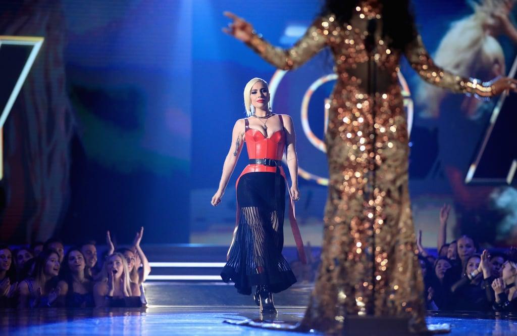 Lady Gaga at MTV TV and Movie Awards 2018