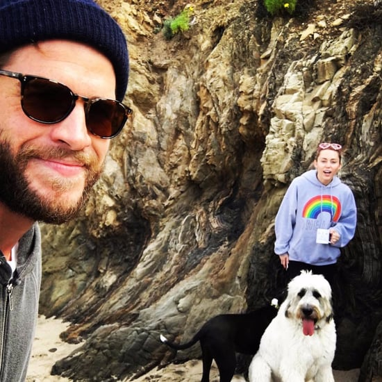 Miley Cyrus and Liam Hemsworth Valentine's Day Instagrams