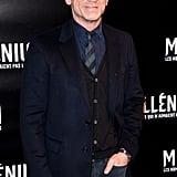 Daniel Craig wears jeans on the red carpet in Paris.
