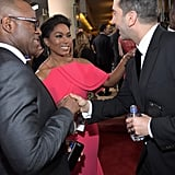 David Schwimmer, Angela Bassett, et Courtney B. Vance