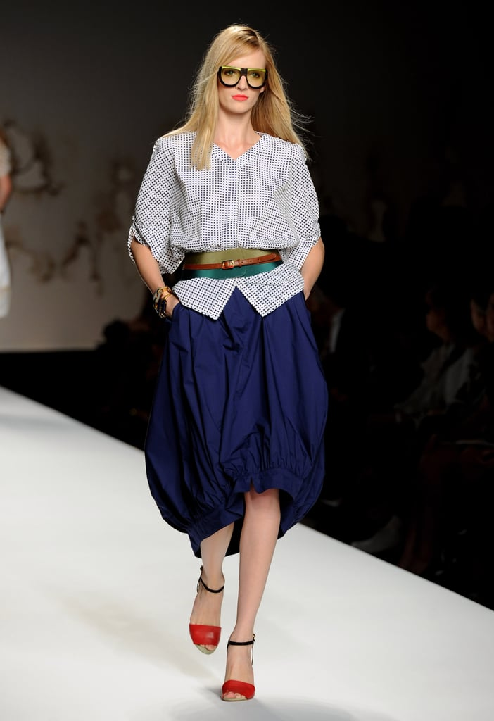 Spring 2011 Milan Fashion Week: Fendi