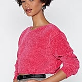 Nasty Gal Knit's Your Call Chenille Sweater