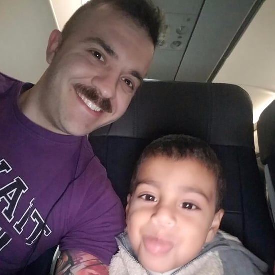 Stranger Befriends Disabled Boy on Flight