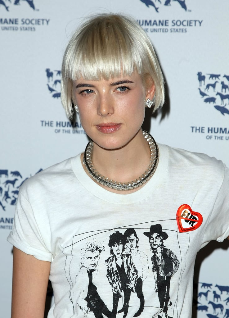 Agyness Deyn Goes Anti-Fur, Temporarily