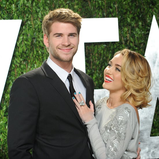 Miley Cyrus and Liam Hemsworth at the Oscars Pictures