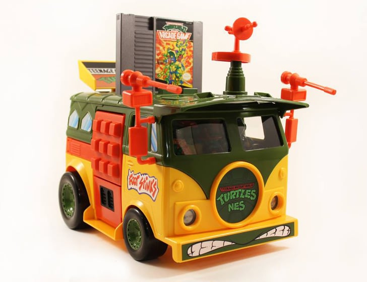 5 Words: Ninja Turtle Nintendo Party Bus