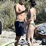 Katy Perry and Orlando Bloom Have a Steamy NSFW Beach Day in Italy