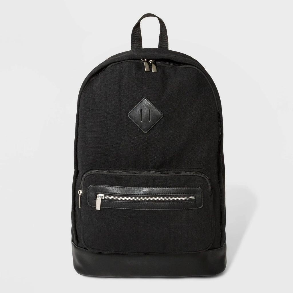 Mini Canvas Backpack