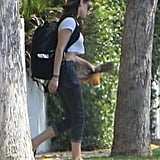 Kristen Stewart emerged in LA after cheating scandal.