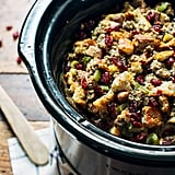 Slow-Cooker Pear and Sausage Stuffing