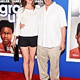 Adam Sandler was joined by his wife, Jackie Sandler.