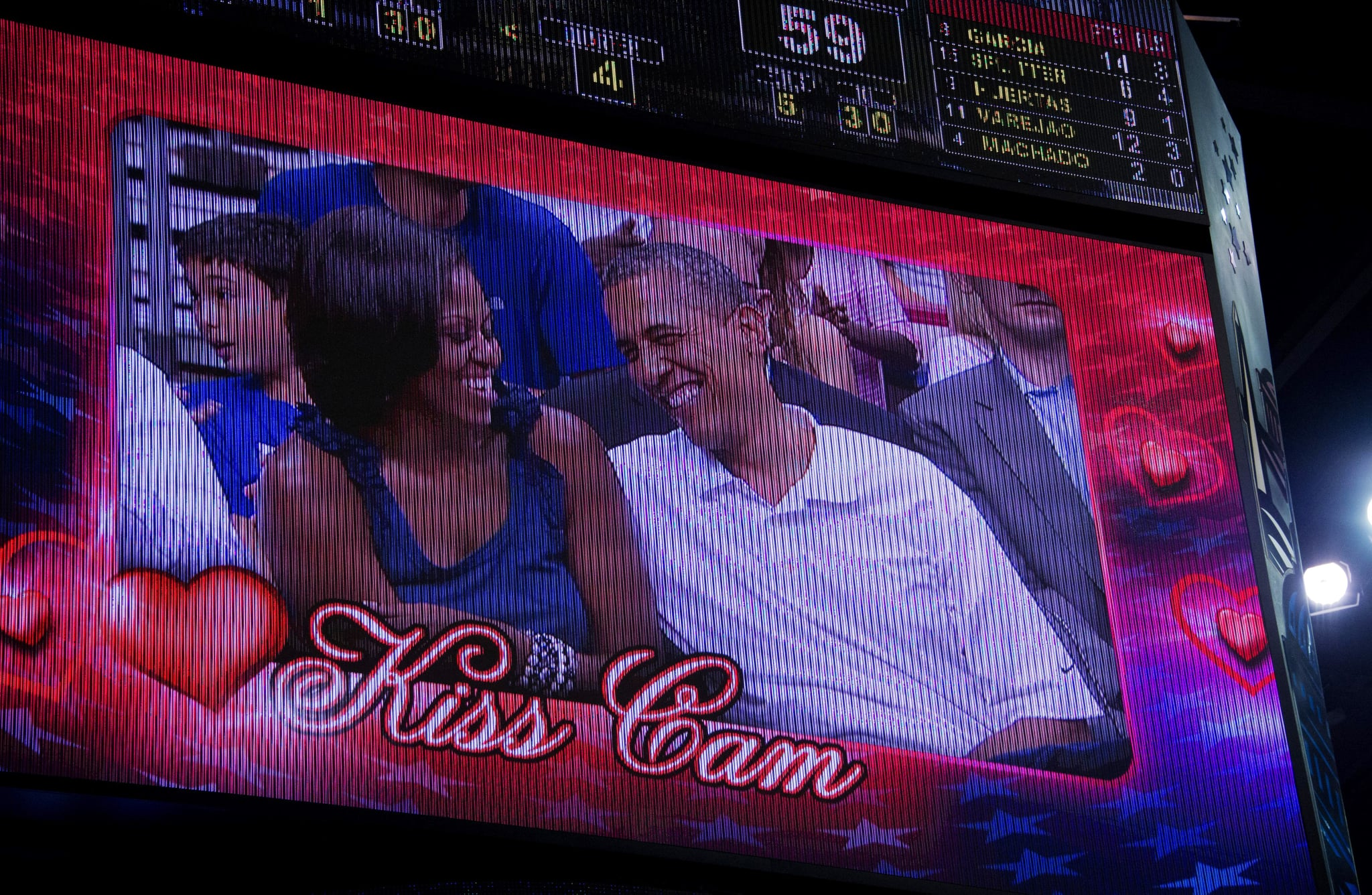 President Obama and First Lady Michelle Obama were caught on the Cam at a United States versus Brazil basketball game.