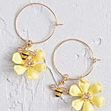 Vital Visitor Bee Earrings