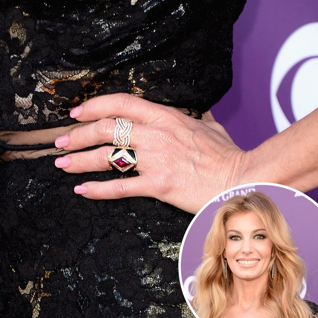Faith Hill | Celebrity Nails From the 2013 Award Shows | POPSUGAR ...