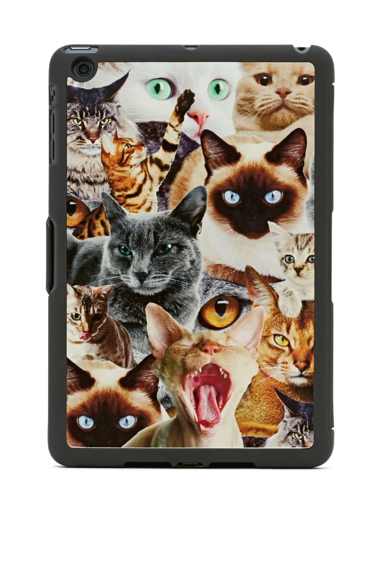 There's so much 'tude going on in this cat riot iPad Mini case ($27, originally $38), we don't even know where to start.