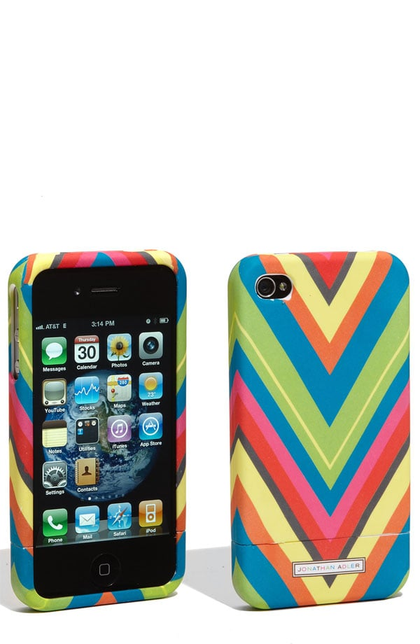 new styles 8c24d 9cceb Jonathan Adler iPhone 4 Cover ($26) | Chevron Print iPhone Case ...