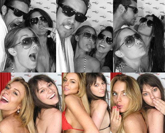 Bikini Photos of Lindsay Lohan, Lauren Conrad, Audrina Patridge in Photo Booth