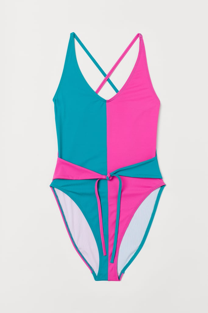 Stranger Things x H&M Swimsuit With Ties