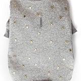 Le Chien Bleu NY Hudson Metallic Stars Dog Sweater
