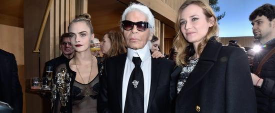 Karl Lagerfeld Death Reactions