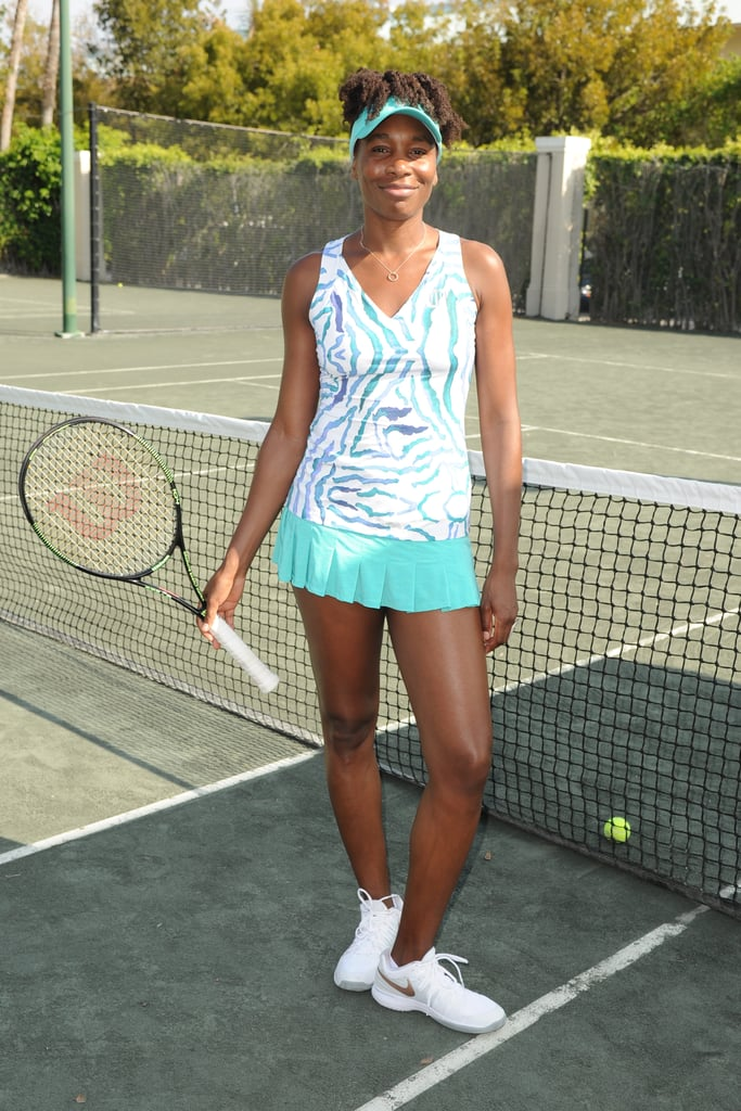 Even when she's not in action, there's plenty of winning going on for Venus Williams — especially when it comes to her on-point ensemble at an All Star Tennis Charity Event in 2015.