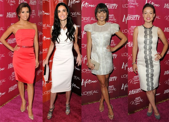 Powerful Women Demi, Eva, Michele, and Olivia Mingle With Friends at Variety's Annual Luncheon